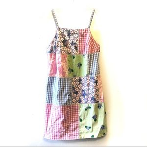 🍁3/$30 Lilly Pulitzer Gingham Patchwork Sundress